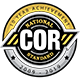 COR Logo - 10 year achievement