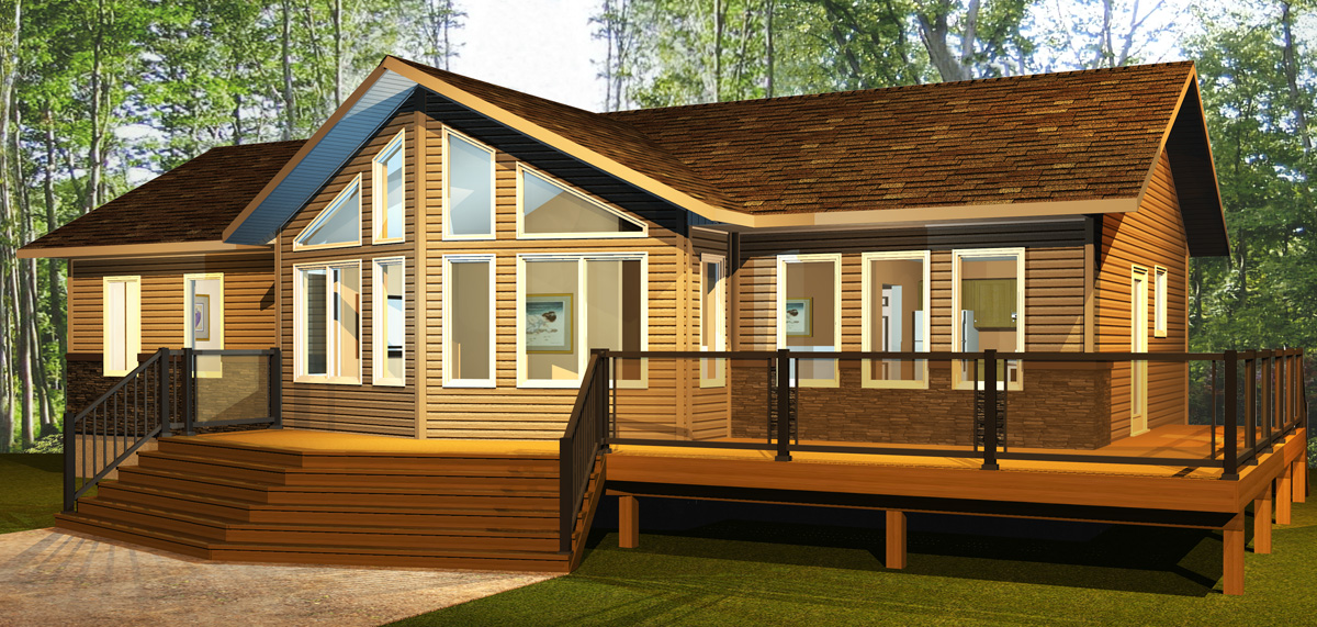 Star ready to move homes in stock homes for Cottage packages manitoba